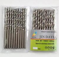 """10pcs 1/16"""" Twist Drill Bit HSS High Speed Steel drilling Metal Wood Plastic O"""