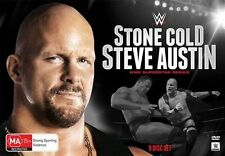WWE - Superstar Series - Stone Cold Steve Austin (DVD, 2015, 9-Disc Set) Region4