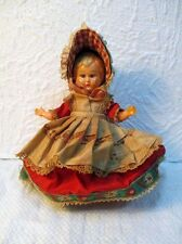 Ancienne poupée folklorique danoise de collection