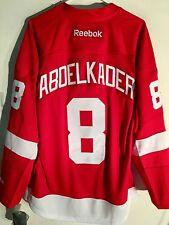 34209738d Reebok Premier NHL Jersey Detroit Redwings Justin Abdelkader Red sz S
