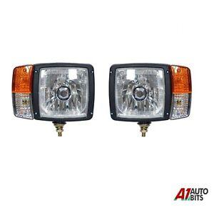 Ein Paar Links und Rechts Scheinwerfer Lichter & Blinker Für Kubota Rtv 900