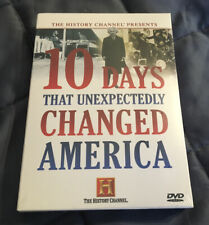 10 Days that Unexpectedly Changed America (DVD, 2006, 3-Disc Set)