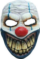Hombre Niños de látex Twisted Payday Payaso Máscara Miedo Terror Elegante Halloween Nuevo