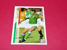 RAY HOUGHTON IRELAND EIRE FIFA WC FOOTBALL CARD UPPER USA 94 PANINI 1994 WM94