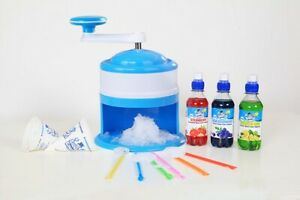 Home Snowcone Machine Package, Flavours, Cups And Straws  -  Order now for Xmas