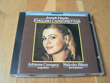 Adrienne Cszengery - Haydn : English Canzonettas - CD Hungaroton Sanyo Japan