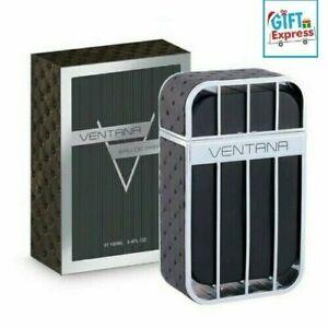 Ventana Pour Homme By Armaf 3.4oz/100ml Eau De Parfum Spray For Men New In Box