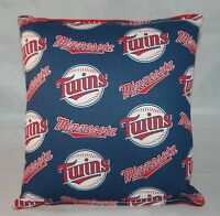 Twins Pillow Minnesota Twins Pillow MLB Handmade in USA Pillow