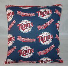 Twins Pillow Minnesota Twins Pillow MLB Handmade in USA Pillow