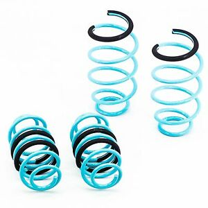 Traction-S Lowering Springs Powder Coated Set fits Chevrolet Sonic 12-14
