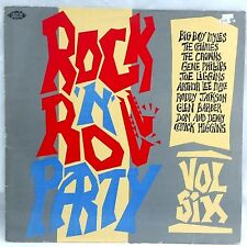 Rock'n'Roll Party Vol Six LP Various Artists Rock & Roll, Rockabilly Ace  CH 175