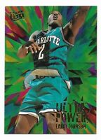 LARRY JOHNSON 1995-96 Fleer Ultra ULTRA POWER Insert #3 ~ Charlotte Hornets NBA