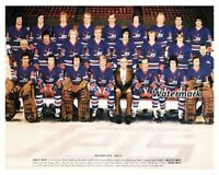 WHA NHL 1974 - 75 Winnipeg Jets Team Picture Color 8 X 10 Photo Picture