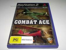 Combat Ace PS2 PAL Preloved *No Manual*