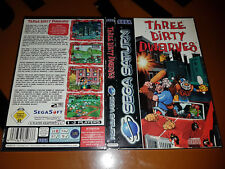 # Sega Saturn-Three Dirty Dwarves-TOP #
