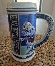 Emmitt Smith Commemorative Collector Stein Dallas Cowboys NFL