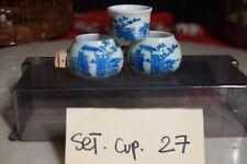 Asian Bamboo Bird Cage Set Cup 27