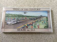 Trial Of The Century - State Vs. O.J.  Simpson Board Game Attorney Gift NEW Rare