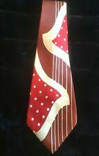 Vintage 40's Korry of California Men's Tie Satin Wide Swing Harry Davis Pasadena