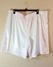 New! Men's Big 3XL (48-50) Starter DAZZLE Athletic Shorts - ARCTIC WHITE