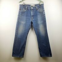 Levis 505 Men's Straight Fit Medium Wash Jeans Size 36x29 EUC
