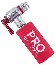 CO2 Inflator By PRO BIKE TOOL - Quick Easy - Presta Schrader Valve Compatible