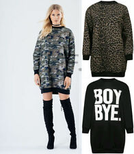 Leopard Crew Neck Tops & Shirts for Women