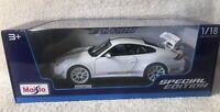 Maisto Porsche 911 GT3 RS 4.0 (White) Special Edition 1/18 Scale Diecast NIB!!!