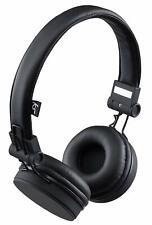 KitSound Headphones On Ear Malibu Wired + Mic  - Phone/PS4/Switch/PC/XB1 Black