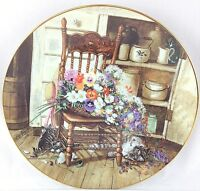 W S George COUNTRY CUTTINGS By Glenna Kurz Collectible Limited Edition Plate