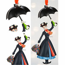 2016 MARY POPPINS Umbrella Sketchbook Ornament Disney Store FREE SHIPPING IN BOX
