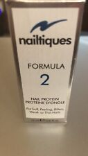 SALE *NEW IN BOX* #1 IN NAIL CARE !!  Nailtiques Formula 2 Protein 15 ml 0.5 Oz.