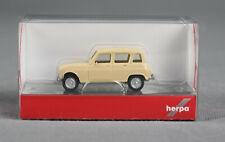 HERPA  020190-007 (H0,1:87) -  Renault R4 beige - NEUWARE!
