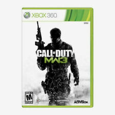 Call of Duty Modern Warfare 3 (Xbox 360)  DISC & COVER ART ONLY NO CASE EXCELLEN