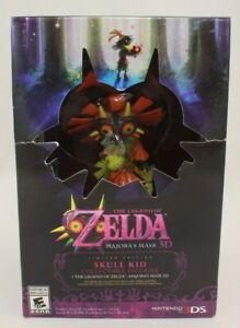 The Legend of Zelda Majora's Mask 3D Limited Edition Skull Kid Nintendo 3DS New