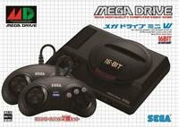 SEGA Mega Drive Mini W Controller 2 Set 16 bit Vintage Game Collector JP Ver