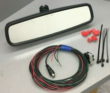 Ford OEM Auto Dim RVD Backup Camera Display Rear View Mirror & Installation Kit