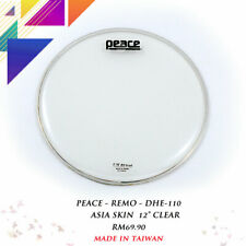 PEACE DHE-110 12'' Clear Drum Head