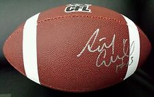 Anthony Calvillo Signed CFL Replica Football Montreal Alouettes Autographed COA