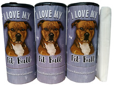 I Love my Pit Bull(85009) Refillable Tissue Tube with 1 Refill package