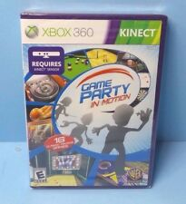 Game Party: In Motion (Microsoft Xbox 360, 2010) BRAND NEW FACTORY SEALED