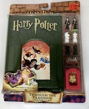 "Harry Potter Chapter Game ""Through the Trapdoor"" MIB! Rare 2001"