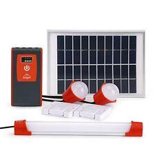 d.light D330 Solar Powered Home Lighting System - Solar System with LED bulbs