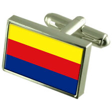 Noord-Holland Flag Cufflinks With Select Gifts Pouch