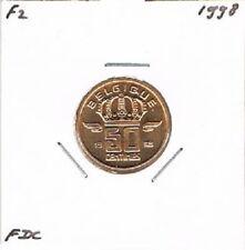 Belgium / Belgique french 50 centimes 1998 BU - KM148.1
