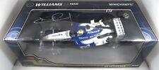 WILLIAMS BMW FW25 Nico ROSBERG signed box TEST BARCELONA F1 2004 MINICHAMPS 1:18