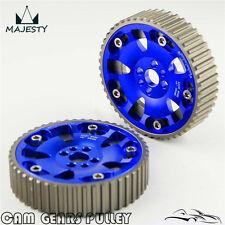 Cam Gear Pulley Sprocket Kit For Nissan R32 R33 R34 RB20 RB25DET RB26DET Blue