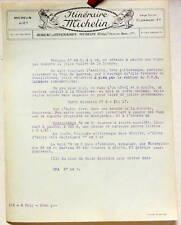 1924   ITINERAIRE MICHELIN   TARGNON  SPA   CARTE BIBENDUM