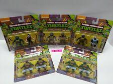 Teenage Mutant Ninja Turtles lot Of 5 CLASSIC COLLECTION MINI FIGURES -Brand NEW