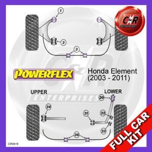 Honda Element (2003 - 2011) Powerflex Complete Bush Kit